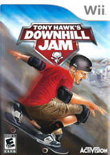 Tony Hawk's Downhill Jam Wii cover (RTHE52)