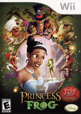 The Princess and the Frog (Riverboat Jazz Edition) Wii cover (RU5Y4Q)