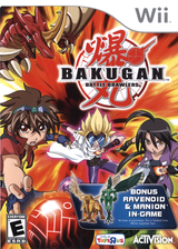 Bakugan Battle Brawlers (Toys R Us Edition) Wii cover (RUHX52)
