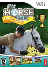My Horse & Me: Riding for Gold Wii cover (RX2E70)