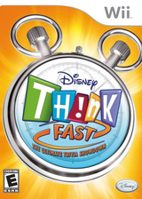 Disney Th!nk Fast: The Ultimate Trivia Showdown Wii cover (RXDE4Q)