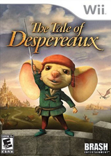 The Tale of Despereaux Wii cover (RXRERS)