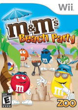 M&M's Beach Party Wii cover (RXWE20)