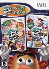 Hasbro: Family Game Night Fun Pack Wii cover (SAHE69)