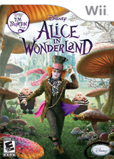 Alice in Wonderland Wii cover (SALE4Q)