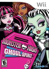 Monster High: Ghoul Spirit Wii cover (SAOEVZ)