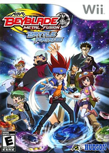 Beyblade: Metal Fusion - Battle Fortress Wii cover (SBBE18)