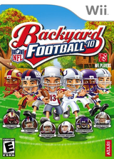 Backyard Football '10 Wii cover (SBFE70)