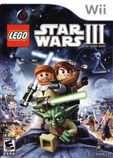 LEGO Star Wars III: The Clone Wars Wii cover (SC4E64)