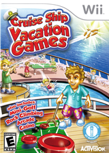Cruise Ship Vacation Games Wii cover (SCSE52)