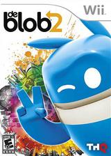 de Blob 2 Wii cover (SDBE78)