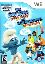 The Smurfs Dance Party - Walmart Edition Wii cover (SDUX41)
