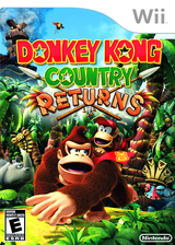 Donkey Kong Country Returns Wii cover (SF8E01)
