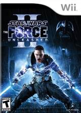 Star Wars: The Force Unleashed II Wii cover (SFUE64)