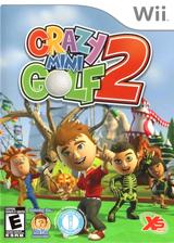 Crazy Mini Golf 2 Wii cover (SG2EFS)