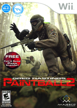 Greg Hastings Paintball 2 Wii cover (SGBE5G)