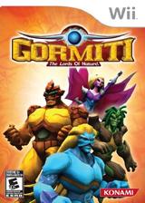 Gormiti: The Lords of Nature! Wii cover (SGLEA4)