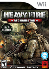 Heavy Fire: Afghanistan Wii cover (SH4EFP)
