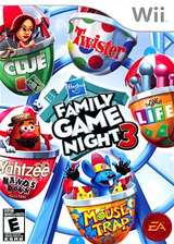 Hasbro: Family Game Night 3 Wii cover (SHBE69)
