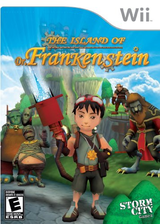 The Island of Dr. Frankenstein Wii cover (SIFESZ)