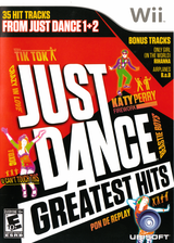 Just Dance Greatest Hits Wii cover (SJHE41)