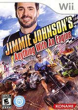 Jimmie Johnson's Anything With An Engine Wii cover (SJJEA4)
