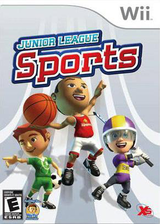 Junior League Sports Wii cover (SJLEFS)