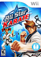 All Star Karate Wii cover (SKTE78)