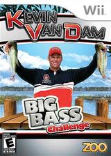 Kevin Van Dam's Big Bass Challenge Wii cover (SKVE20)