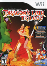 Dragon's Lair Trilogy Wii cover (SL3ENR)