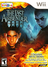 The Last Airbender: Toys R Us Special Edition Wii cover (SLAZ78)