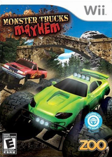 Monster Trucks Mayhem Wii cover (SM4E20)