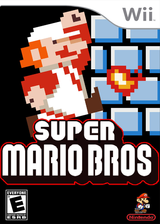 New Super Mario Remake CUSTOM cover (SMNE02)