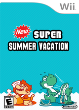 New Super Summer Vacation CUSTOM cover (SMNE61)