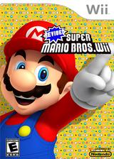 Revised Super Mario Bros. Wii CUSTOM cover (SMNE69)