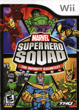 Marvel Super Hero Squad:The Infinity Gauntlet Wii cover (SMSE78)
