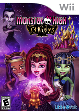 Monster High: 13 Wishes Wii cover (SNYEVZ)