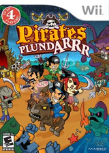 Pirates Plund-Arrr Wii cover (SPAE5G)