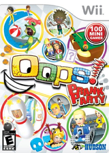 Oops! Prank Party Wii cover (SPIE18)