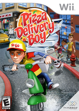 Pizza Delivery Boy Wii cover (SPZE5G)