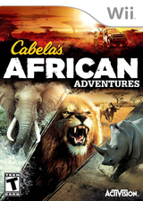 Cabela's African Adventures Wii cover (SQAE52)