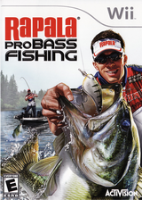 Rapala Pro Bass Fishing Wii cover (SRFE52)
