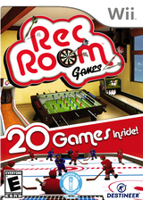 Rec Room Games Wii cover (SRRENR)