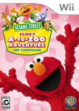Sesame Street: Elmo's A-to-Zoo Adventure Wii cover (SS3EWR)