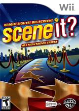 Scene It? Bright Lights! Big Screen! Wii cover (SSCEPM)