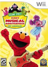 Sesame Street: Elmo's Musical Monsterpiece Wii cover (SSSEWR)