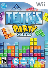 Tetris Party Deluxe Wii cover (STEETR)
