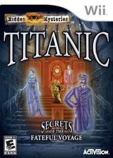 Hidden Mysteries: Titanic Wii cover (STTE52)