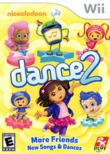 Nickelodeon Dance 2 Wii cover (SU2E54)