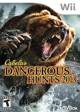 Cabela's Dangerous Hunts 2013 Wii cover (SUVE52)